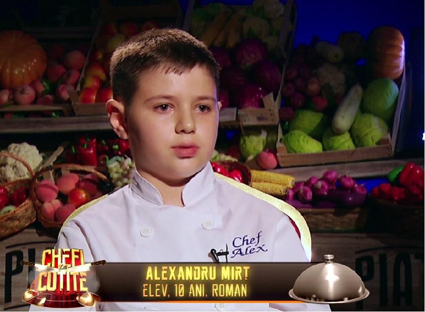 Alex, baietelul bucatar