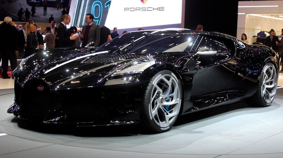 Cea mai scumpa masina din lumea - Bugatti La Voiture Noire