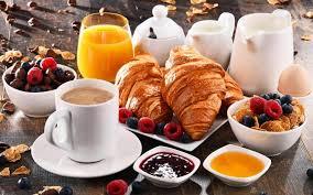 Micul dejun pe drum