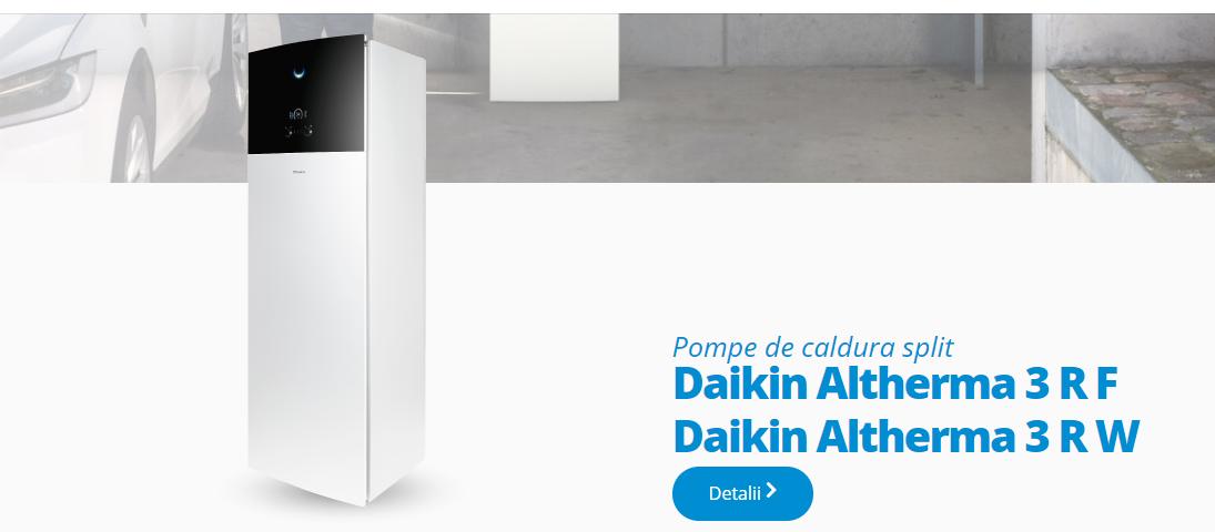 Pompe de caldura aer apa Daikin